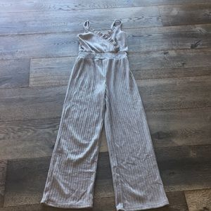 Soft Grey Jumpsuit